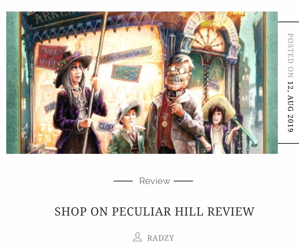 Radzy's Review of 'The Shop on PeculiarHill'